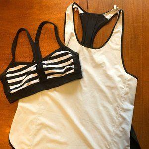 Lululemon Bra/Shirt Combo